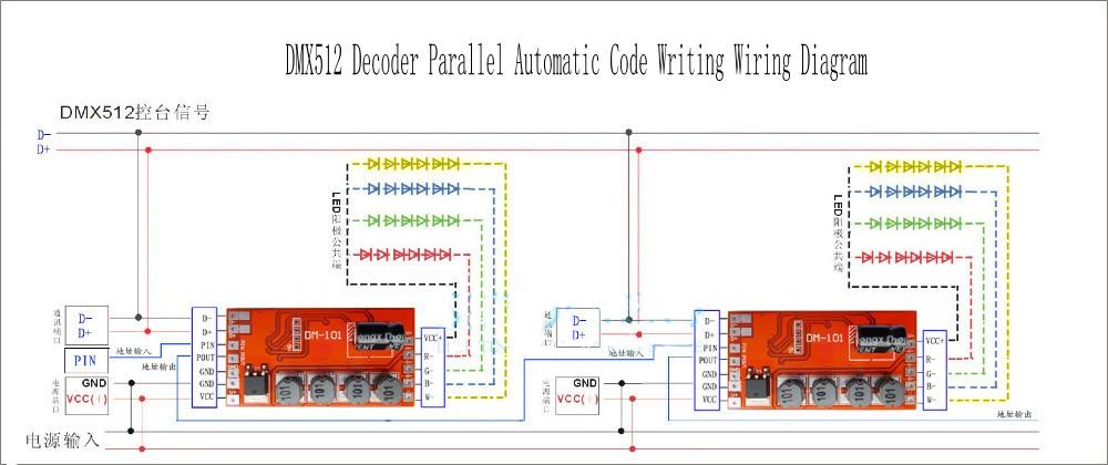 DMX_Decoder_Driver_Controller_DM101_2