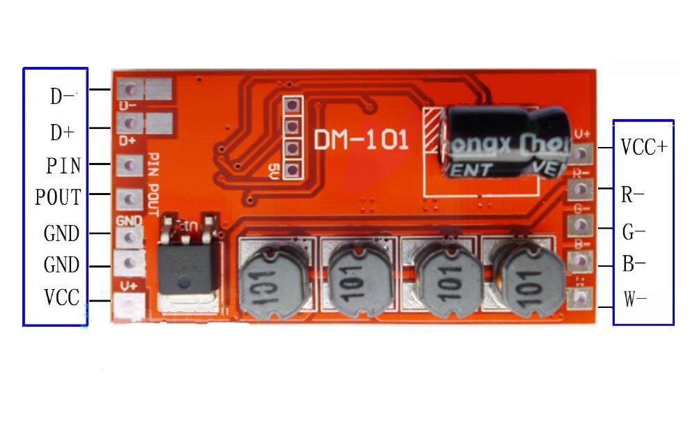 DMX_Decoder_Driver_Controller_DM101_3