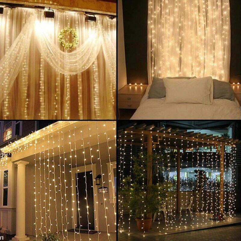 Holiday_Party_Lights_LED_Curtain_Lights_3M_2