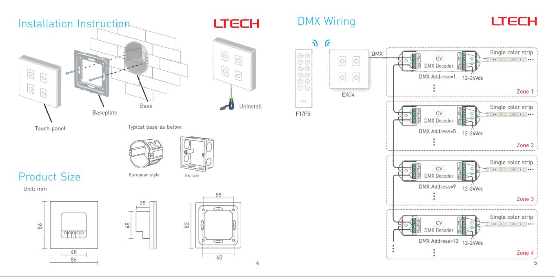 LTECH_DMX512_Master_Controller_EXC4_3