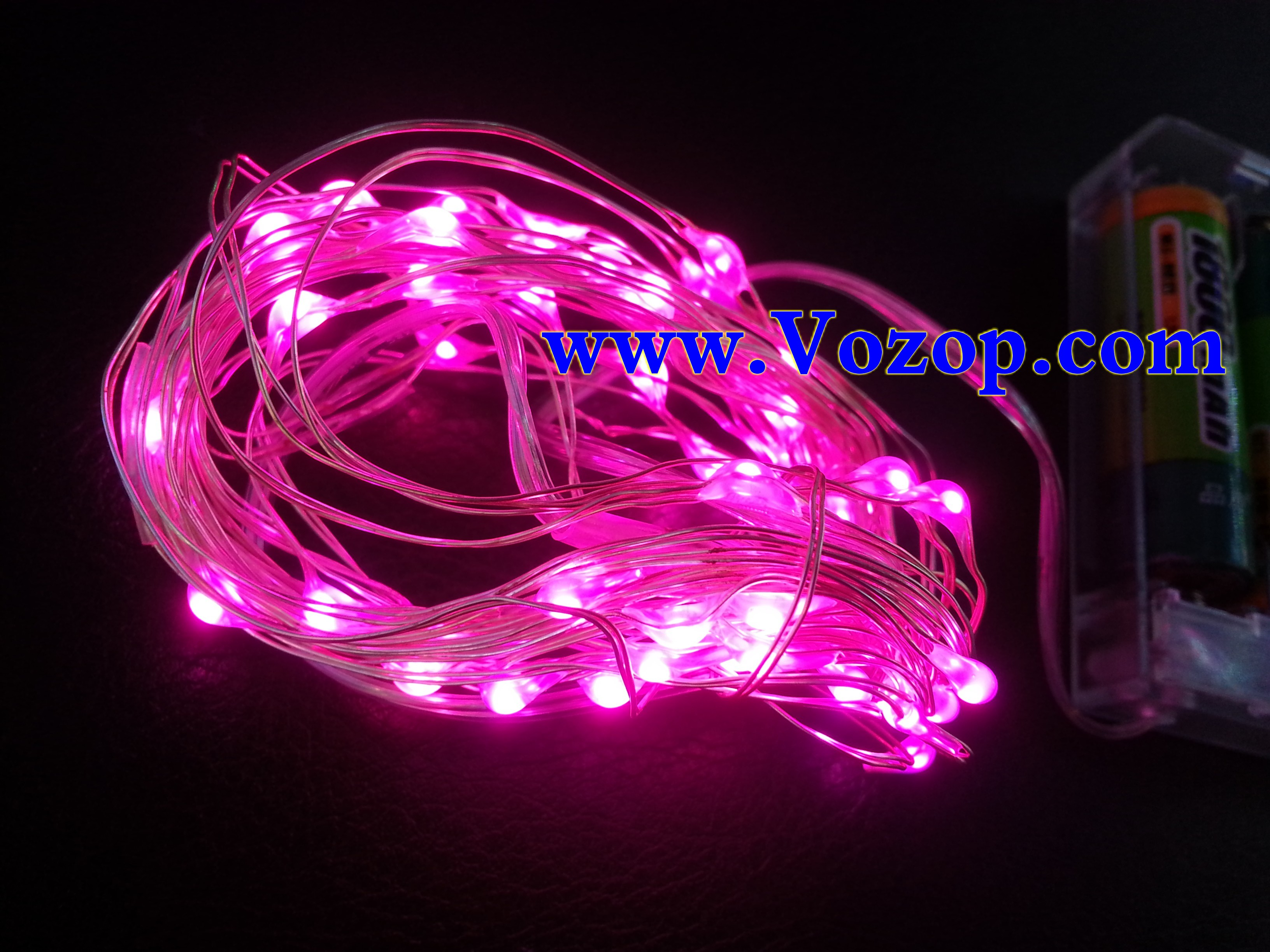 pink_3M_30_LEDs_Copper_Wire_LED_Fairy_Lights_Battery_Operated
